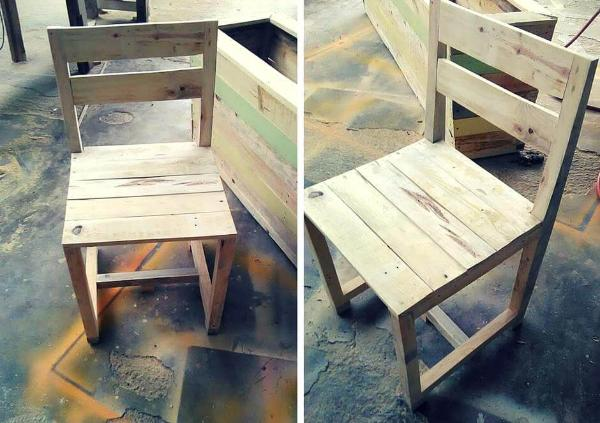 Chair from Pallets
