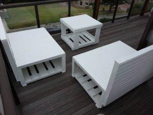 Pallet Patio Seating
