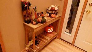 Pallet Console Table / Hall Table Design