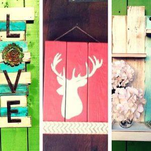 Pallet Wall Art Ideas