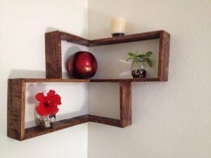 Pallets Wood Decorative Shelf Ideas