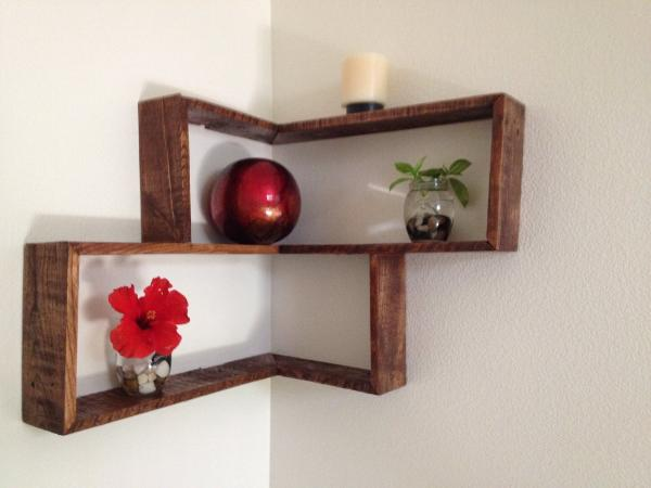 Pallets Wood Decorative Shelf Ideas - 101 Pallets on Pallets Design Ideas  id=89195