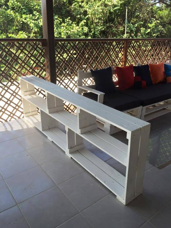 upcycled pallet patio sofa set