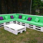 pallet giant corner sofa set