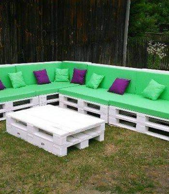 pallet giant corner sofa set
