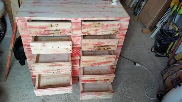 pallet 12 drawer dresser