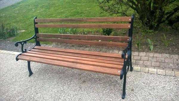 diy pallet bench seat