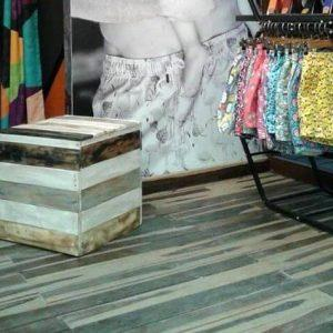 diy pallet bucket stool