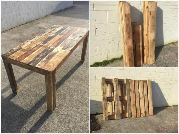 Pallet Table Design