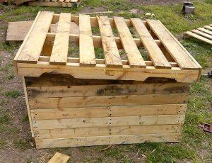 Upcycled Wood Pallet Dog House