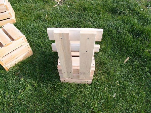 Pallet Garden And Fire Pit Chair Set 101 Pallets