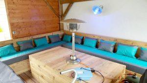 Pallet Patio Furniture / Sectional Sofa