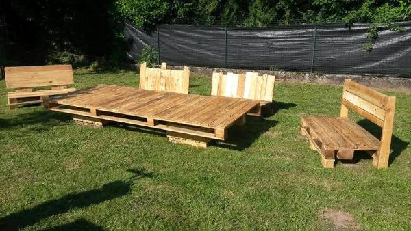 pallet lounge sofa set