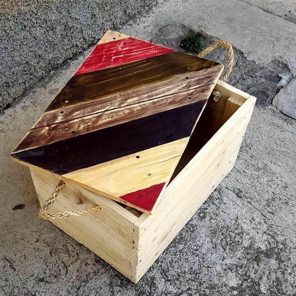 pallet cute box