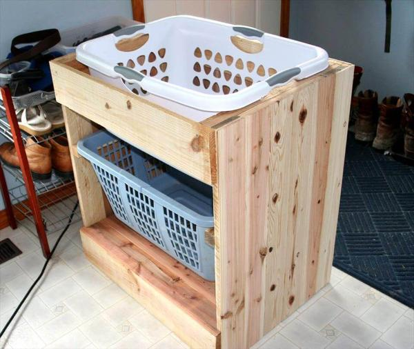 pallet laundry station