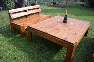 Wood Pallet Outdoor Seating Furniture