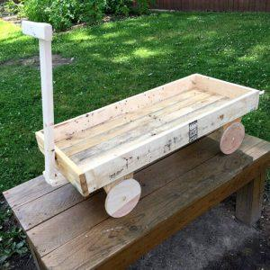 Pallet Wood Wagon for Kids