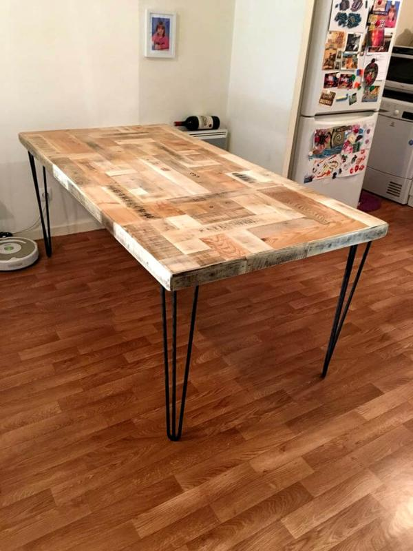 Pallet Dining Table Give A New Life To Pallets 101