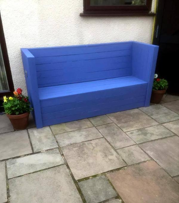 diy pallet outdoor sofa