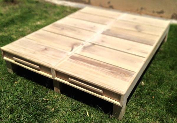 Wood Pallet Twin Bed Frame 101 Pallets