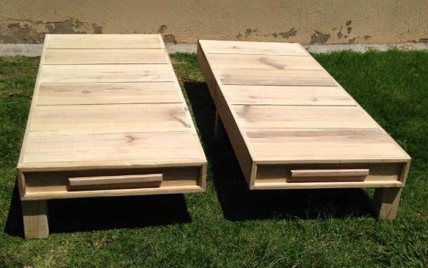 Wood Pallet Twin Bed Frame – 101 Pallets