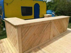 DIY Pallet Bar and Terrace Project