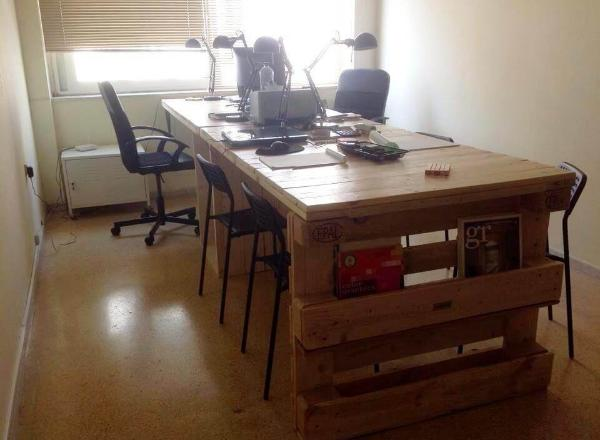 office desk diy. Diy Pallet Office Desk