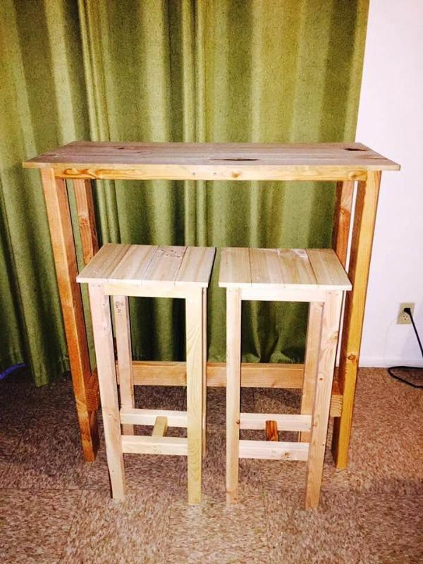 Pallet Bar Stools 101 Pallets