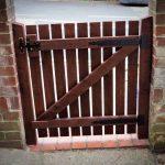 diy wooden pallet garden gate