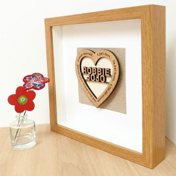 3 DIY Wood Anniversary Gift Ideas