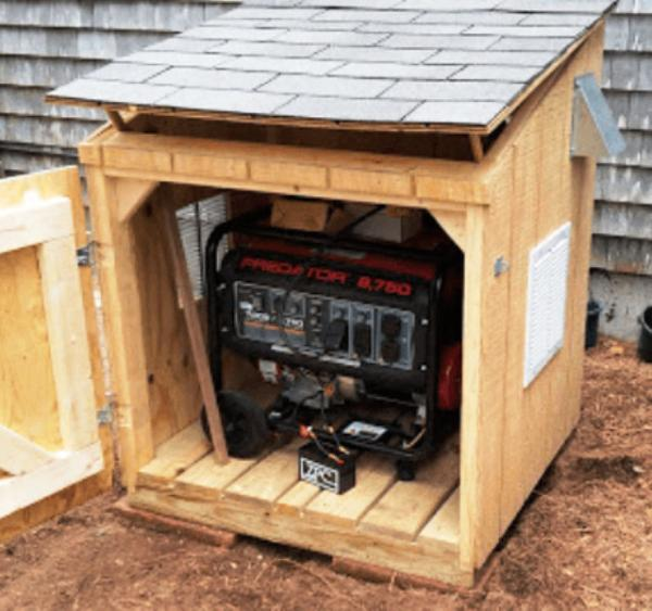 Soundproof Box Out Of Pallets