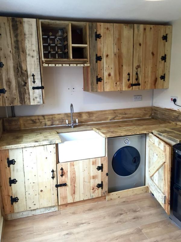 Clean And Maintain Your Pallet Cabinets